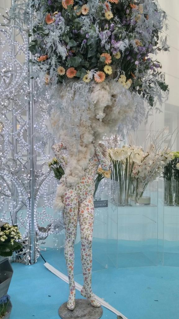floral manequin